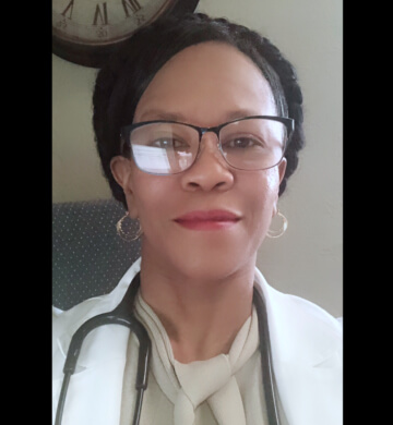 doctor woman smiling